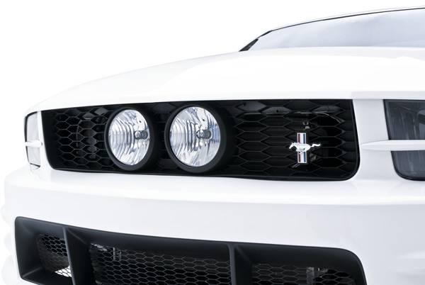 05 09 Mustang Front Upper Grille For Center Fog Lights