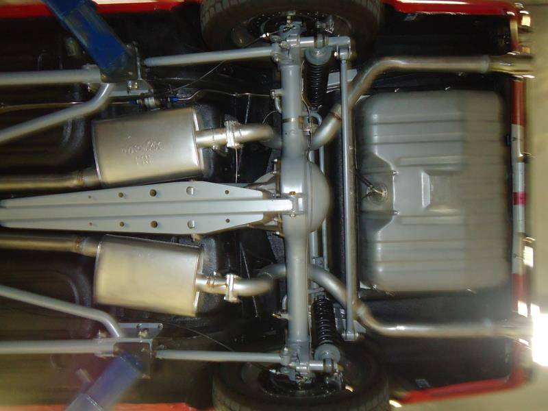 65 70 Mustang Tci 3 Link Rear Suspension Kit Coupe Or