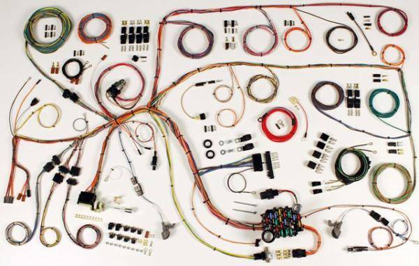 60-64 Ford Falcon, 60 - 65 Comet Complete Chassis Wire Harness Kit | 1965 Falcon Wiring Harness |  | Stang-Aholics