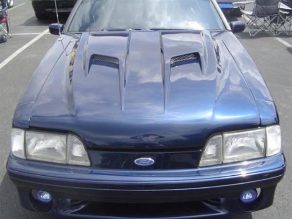 87 93 Ford Mustang Fiberglass Hood