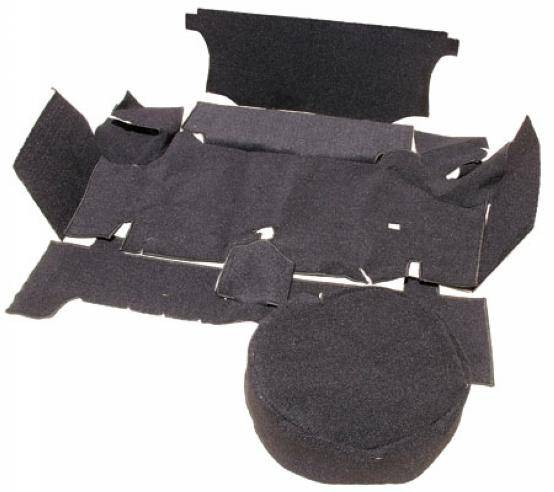 67 68 Mustang Fastback Trunk Carpet Kit