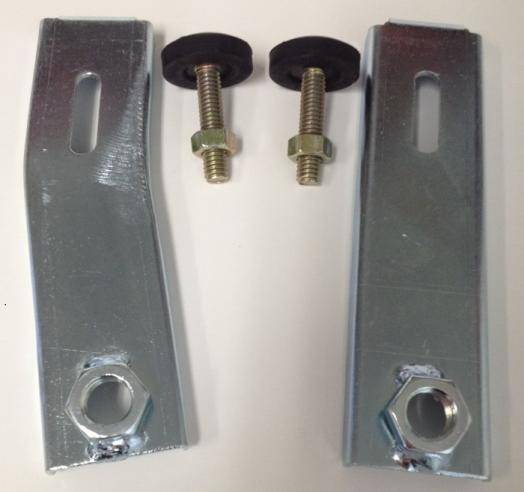 Stainless Steel 1964-1973 Mustang Hood Pin Kit Billet