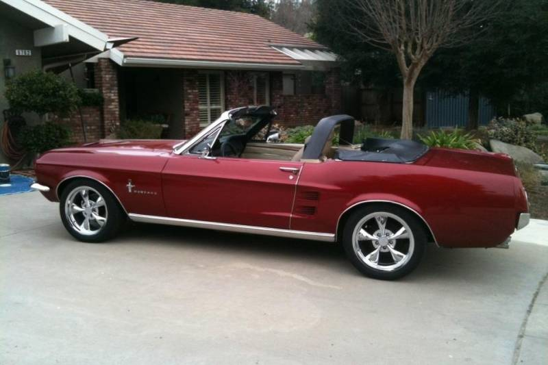 65 68 Mustang Convertible Styling Bar