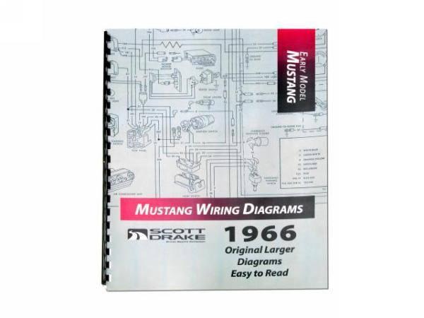 1966 mustang wiring diagram manual large format rh stang aholics com 1969 Mustang Wiring Diagram 1965 Mustang Color Wiring Diagram