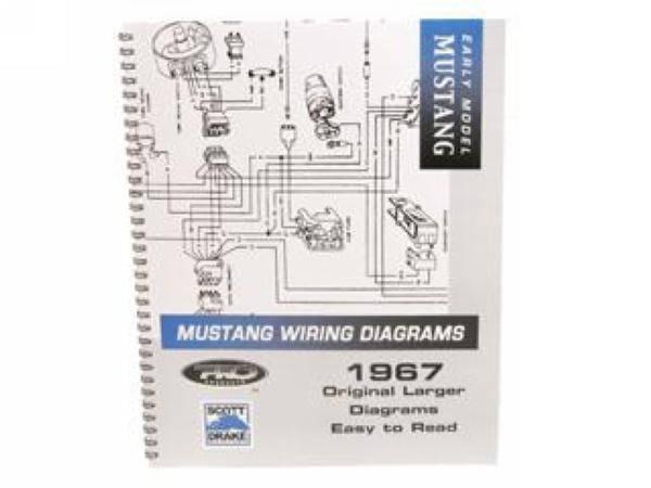 1967 mustang pro wiring diagram manual large format. Black Bedroom Furniture Sets. Home Design Ideas