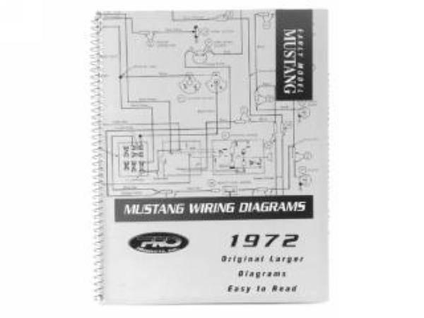1971 Mustang Pro Wiring Diagram Manual  Large Format