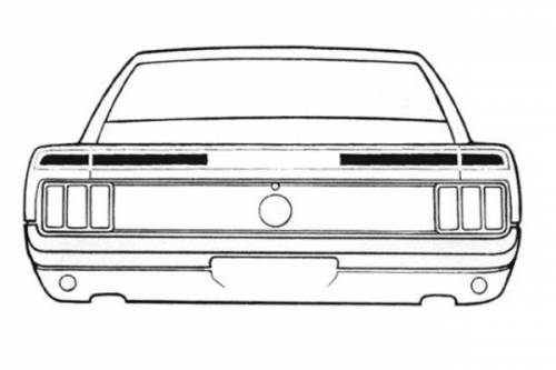Stripe Kits - Trunk Lid