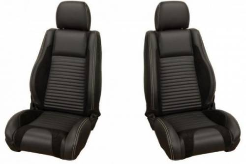 Upholstery - Front & Rear Fastback Seats