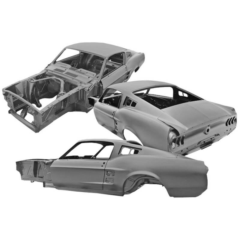 1967 mustang fastback dynacorn body. Black Bedroom Furniture Sets. Home Design Ideas