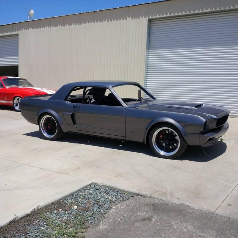 64 - 66 Mustang GTRS Custom Fiberglass Front Valance