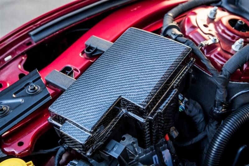05 - 16 Mustang Carbon Fiber LG241 Fuse Box Cover | 2014 Mustang Carbon Fiber Fuse Box Cover |  | Stang-Aholics