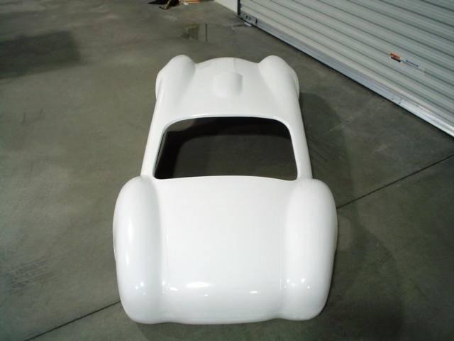 Fiberglass Go-kart Body C-Styled
