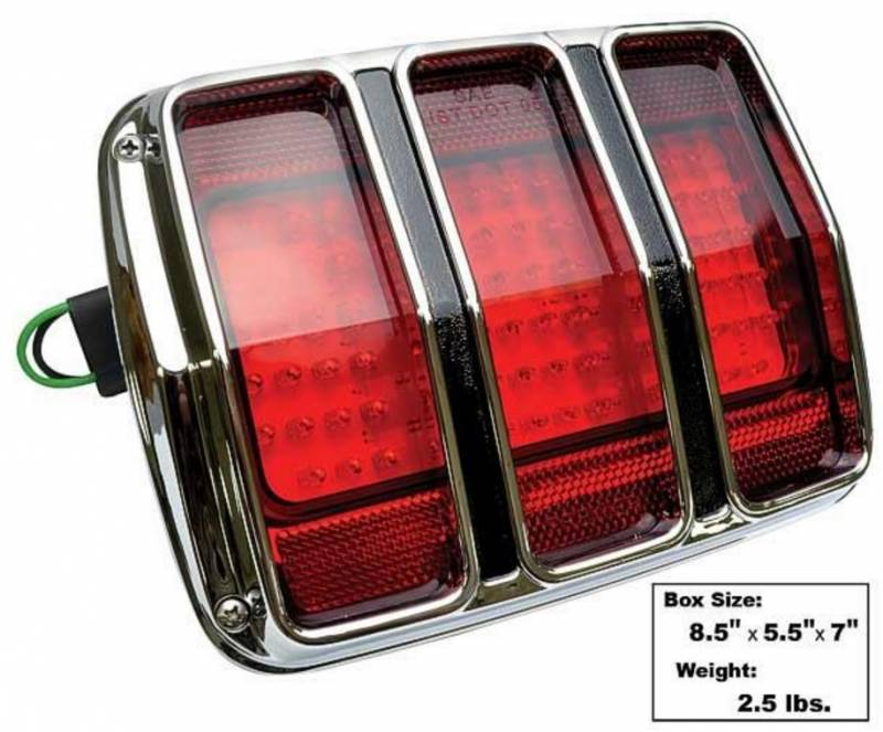65 66 Mustang Led Tail Lamp With Bezel