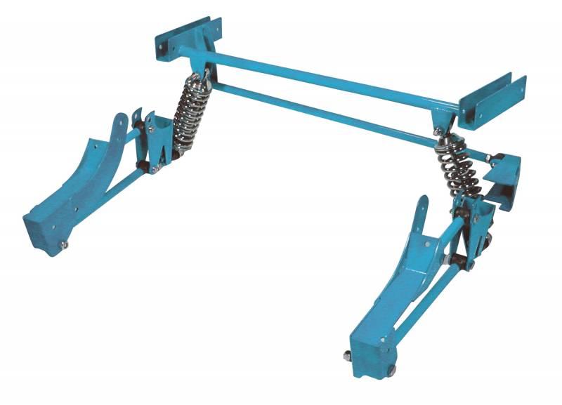 65 70 mustang heidts 4 link rear suspension. Black Bedroom Furniture Sets. Home Design Ideas