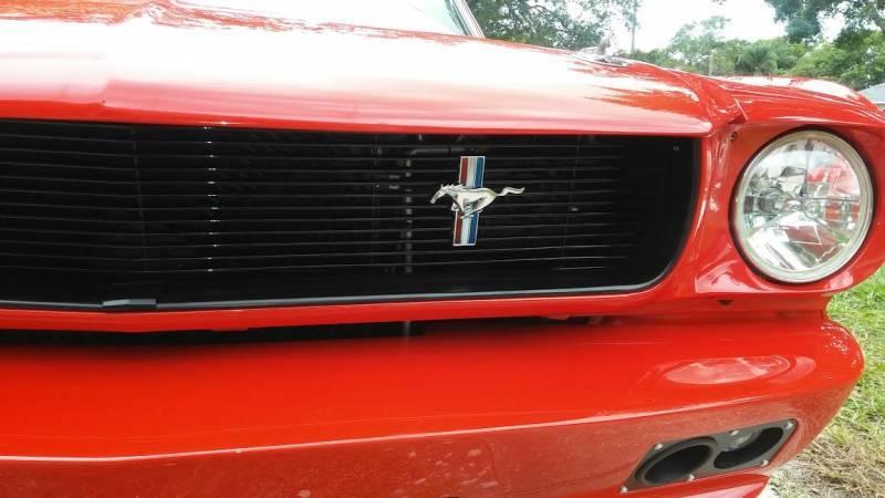 66 Mustang Parts >> 64 66 Mustang Black Billet Aluminum Front Grille