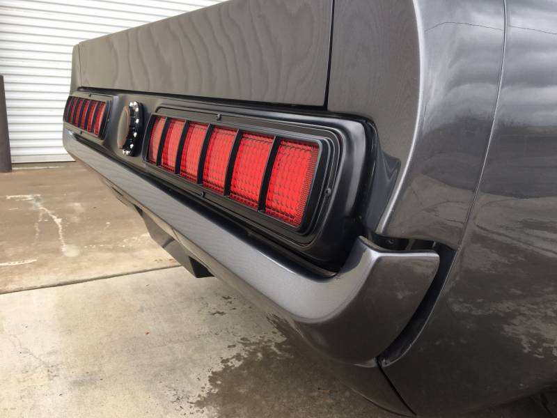 65 66 Mustang Custom S Style Tail Panel W Led