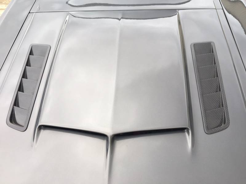 65 Mustang Parts >> 65 66 Mustang Fiberglass Hood With Shelby Style Scoop And Carbon