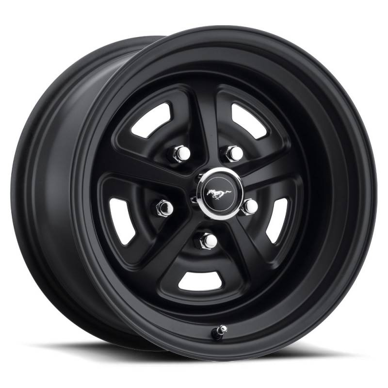 Magnum 500 Wheels >> 64 73 Mustang 15 X 7 Magnum 500 Alloy Wheel Stealth Black