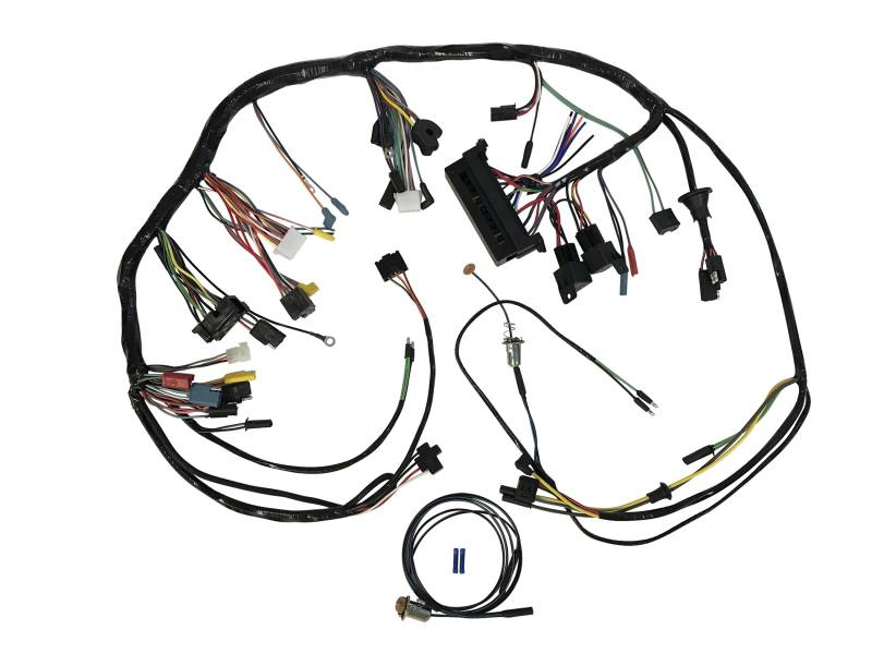 1967 Mustang Wiring Harness Electrical Circuit Electrical Wiring