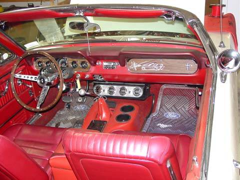 65 66 Mustang Custom Under Dash Cool Only A C System For 289 260 V 8 Engine