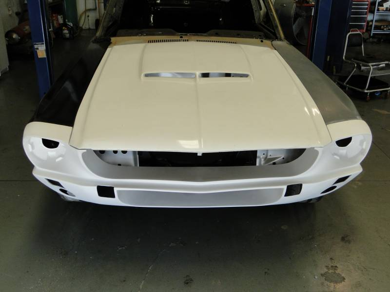 1967 Mustang Fiberglass Front Nose Section, shelby styled
