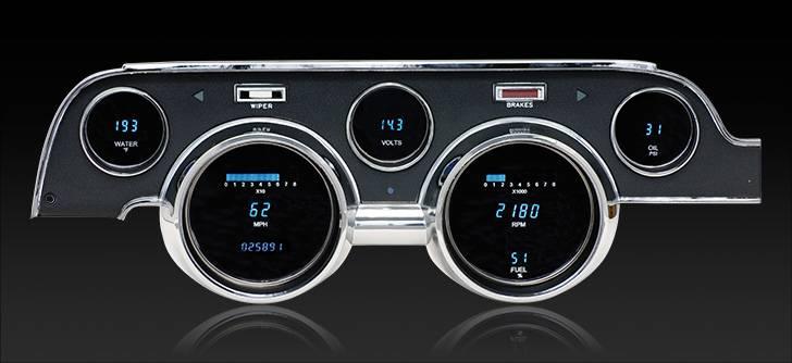 67 Mustang Digital Instruments, Dakota Digital