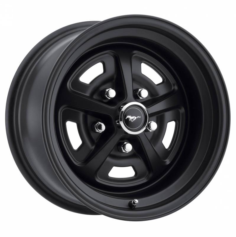 73 Mustang 17x8 Magnum 500 Alloy Wheel- Stealth Black