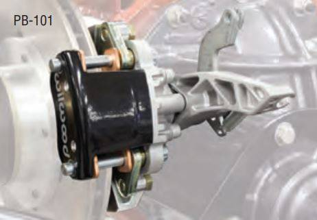 Heidts Pro-G Independent Rear Suspension Wilwood Parking Brake with Cables