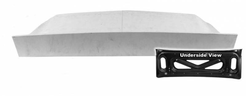 67 - 68 Mustang Fastback Shelby-Type Spoiler Deck Lid with Steel Frame