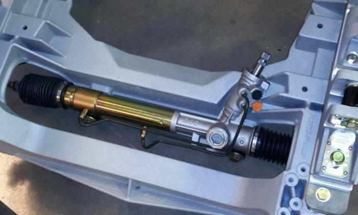65 66 67 68 69 70 Mustang Detroit Speed Aluma Frame Front Suspension Kit,  Double Adjustable Shocks