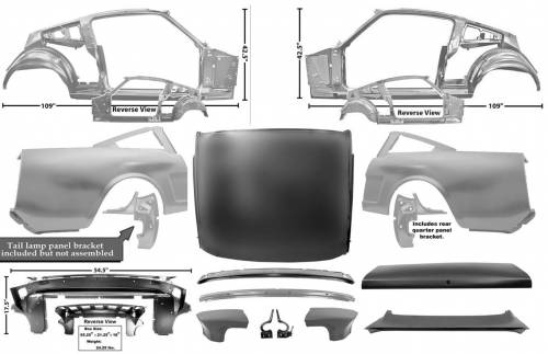 Body - Fastback Conversion Kits