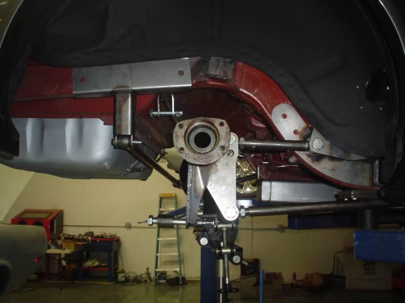 65 70 Mustang Heidts 4 Link Rear Suspension