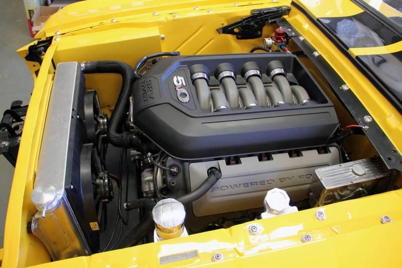 F218671774 64 66 mustang radiator module 5 0 coyote 11\