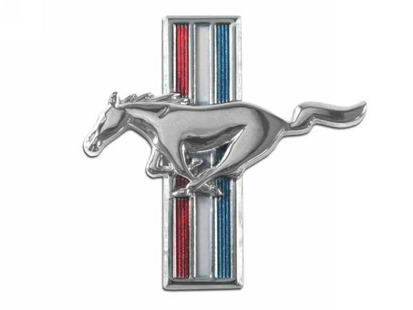 Scott Drake Mustang Fender Emblem Running Horse LH 289 1967-1968