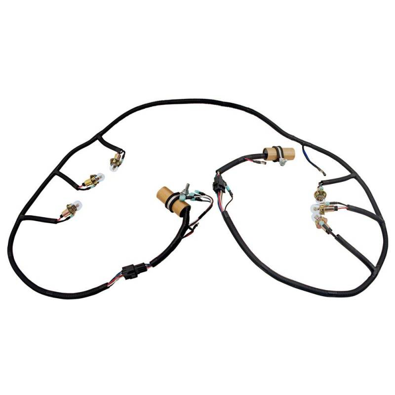67 - 70 Mustang Shelby Style Tail Lamp Wire Harness, Sequential  Mustang Tail Light Wiring Diagram on