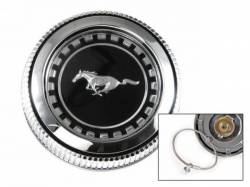 Scott Drake - 71-73 Mustang Fuel Cap (with Vent & Cable)