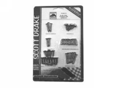 Scott Drake - 64-66 Mustang Convertible Interior Trim Screw Kit