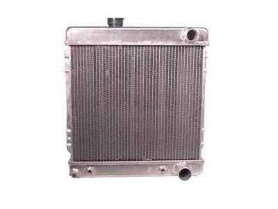 Scott Drake - 1964 - 1966 Mustang 2 Core Hi-Po Aluminum Radiator (260, 289)