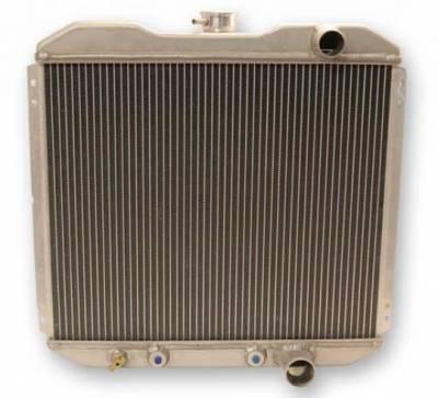 Scott Drake - 67 - 69 Mustang Aluminum Radiator, Small Block