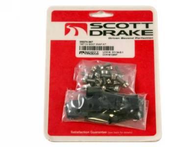 Scott Drake - 1967 Mustang Convertible Top Boot Snap Kit