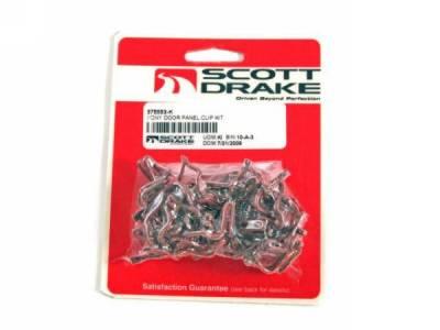 Scott Drake - 65 - 67 Mustang Deluxe Door Panel Clip Set