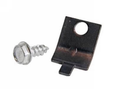 Scott Drake - 1964 - 1968 Mustang  Heater Cable Clamp Bracket Kit