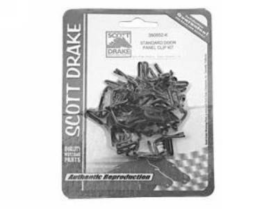 Scott Drake - 1964 - 1968 Mustang  Door Panel Clip Kit