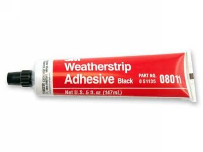 Scott Drake - Black Weatherstrip Adhesive