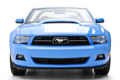 3D Carbon - 10 - 14 MUSTANG - V6 Headlight Splitters (Pair)