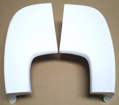 GTRS | MUSTANG PARTS - 65 - 66 Mustang Fastback Fiberglass Spoiler Style End Caps
