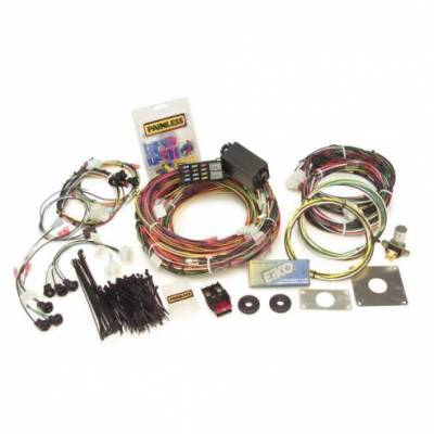 Miscellaneous - 64 - 66 Mustang Complete Painless Wire Harness