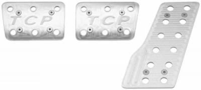 Total Control Products - 64 - 70 Mustang Billet Aluminum Pedal Covers
