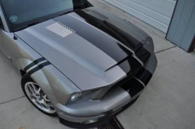 TruFiber - 07 - 09 Ford Mustang GT500 Fiberglass Hood