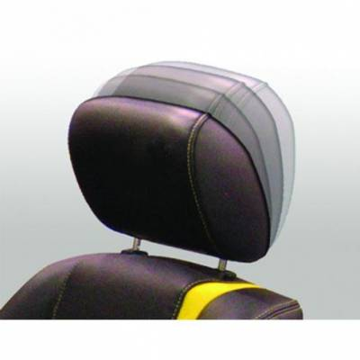 TMI Products - 05 - 09 Mustang Headrest Ratcheting Tilt - Pair, Black Leather